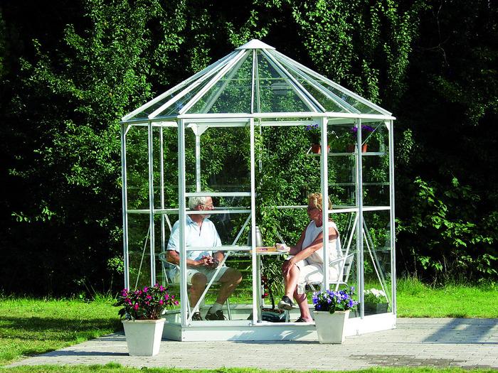 Rundt drivhus - Guide til runde og 6 kantede drivhuse